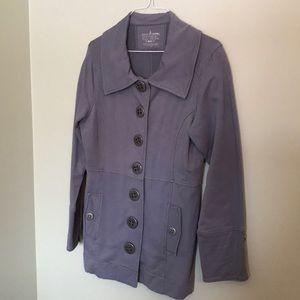 NEON BUDDHA denim blue-coloured jacket/blazer